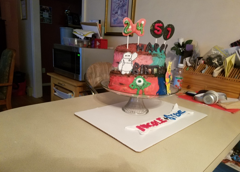 Cool Making Your Own Birthday Cake Nicoles Story Funny Birthday Cards Online Elaedamsfinfo